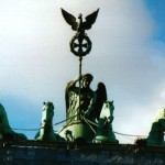 Victory Atop the Brandenburg Tor