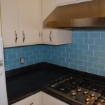 The finished tile, with grouting! Whoo Hoooo!